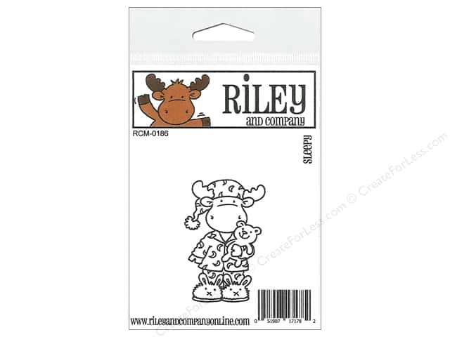 Riley & Company Cling Stamps Sleep