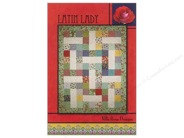 Villa Rosa Designs Latin Lady Pattern Card