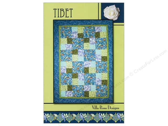 Villa Rosa Designs Tibet Pattern Card