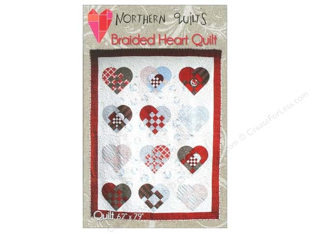 Northern Quilts Braided Heart Quilt Pattern