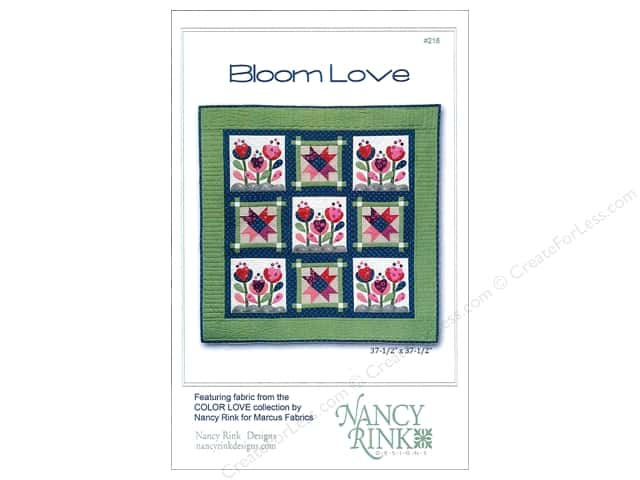 Nancy Rink Designs Bloom Love Pattern