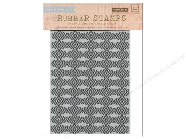 BasicGrey Rubber Stamp Grand Bazaar Diamond Background