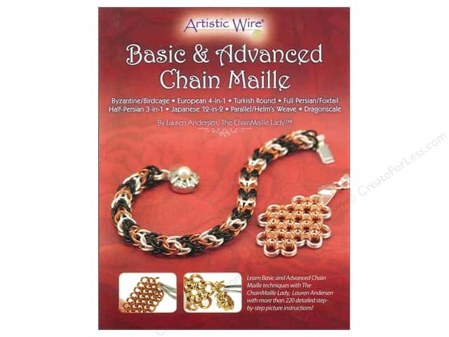 Artistic Wire Basic & Advanced Chain Maille Book by Lauren Andersen