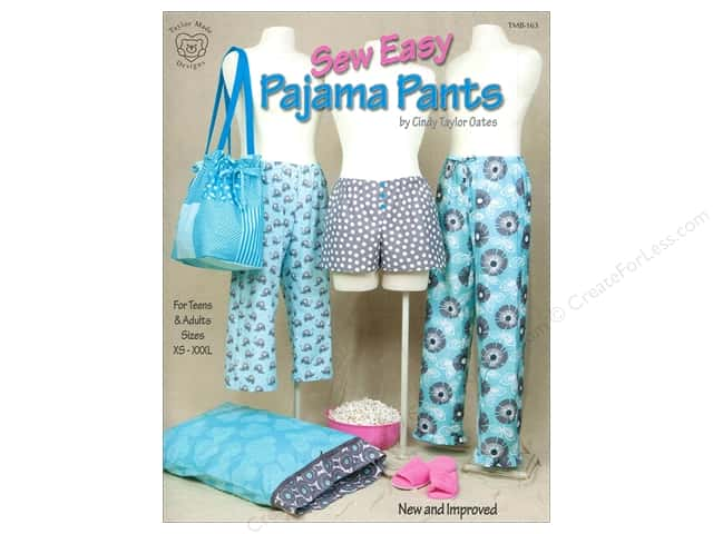 Taylor Made Sew Easy Pajama Pants Book by Cindy Taylor Oates