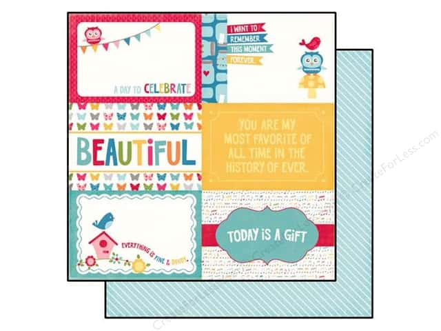Echo Park 12 x 12 in. Paper Fine And Dandy Collection 6 x 4 in. Journaling Cards (25 sheets)