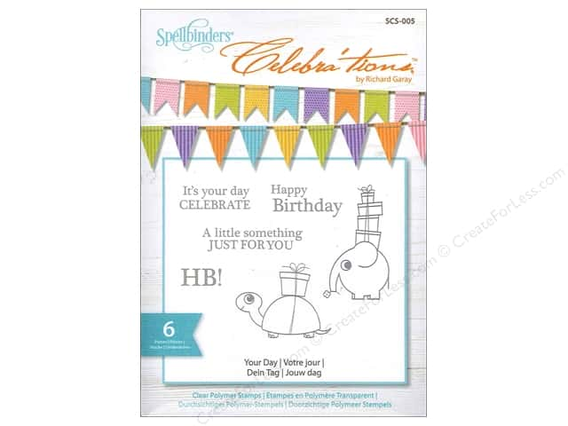 Spellbinders Stamp Celebra'tion Your Day