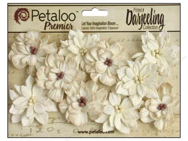 Petaloo Darjeeling Dahlias Teastain Cream