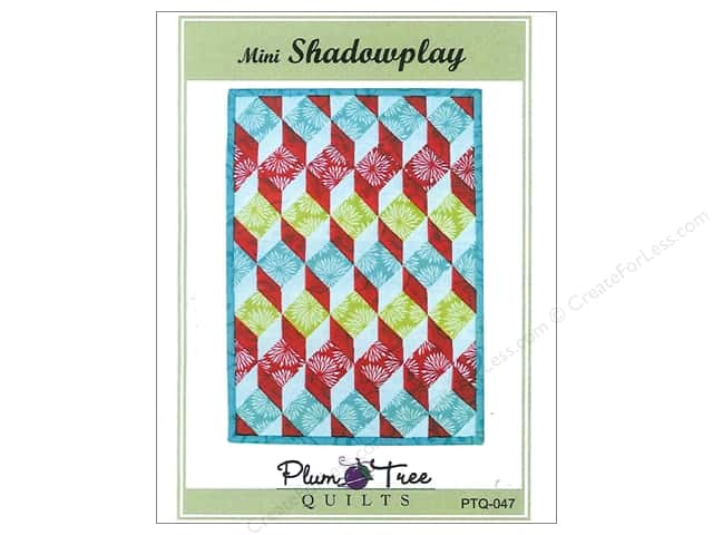 Plum Tree Quilts Mini Shadowplay Pattern