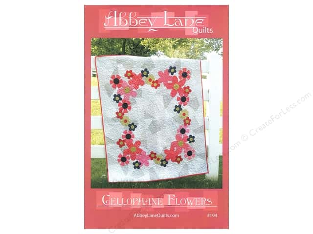 Abbey Lane Quilts Cellophane Flowers Pattern