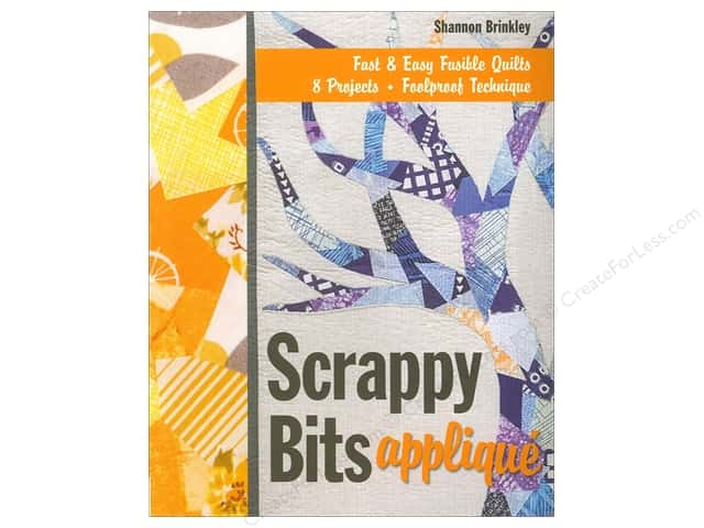 Stash By C&T Scrappy Bits Applique Book