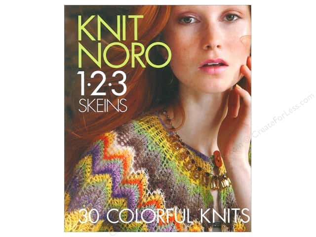 Knit Noro 1-2-3 Skeins: 30 Colorful Knits Book