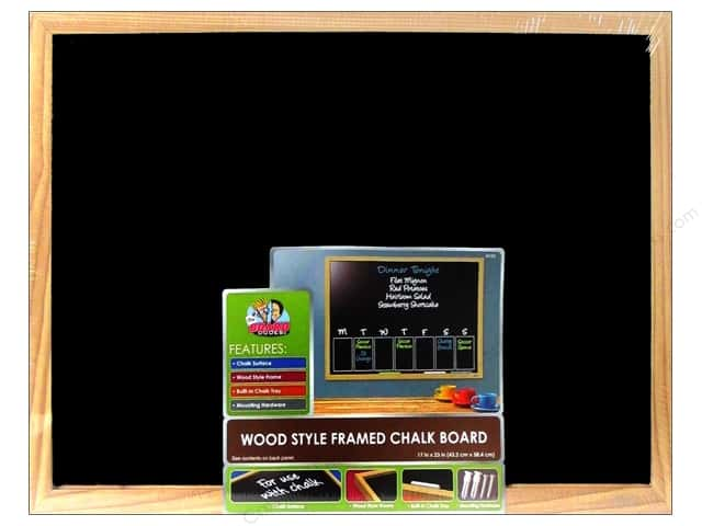 The Board Dudes Chalk Boards Wood Frame 17 x 23 in.