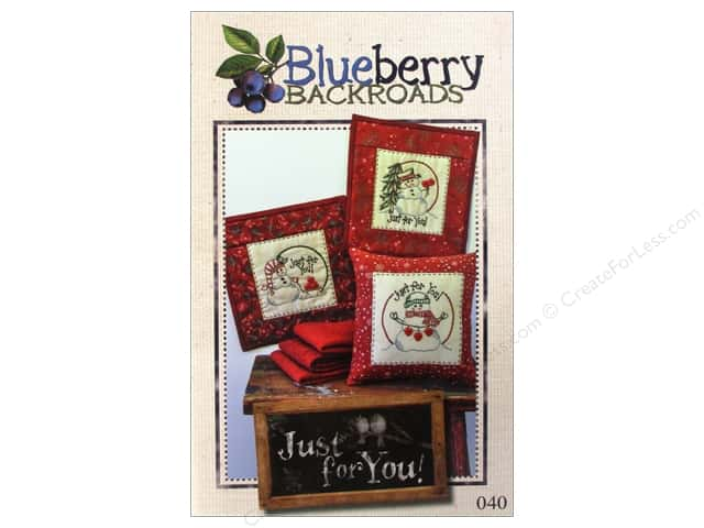 Blueberry Backroads Just For You Pattern