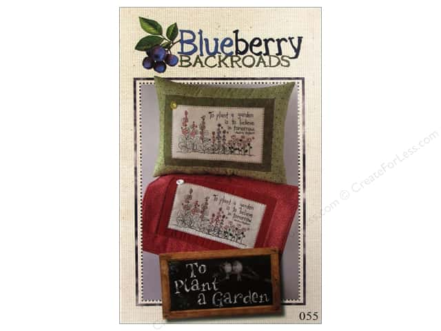 Blueberry Backroads To Plant A Garden Pattern