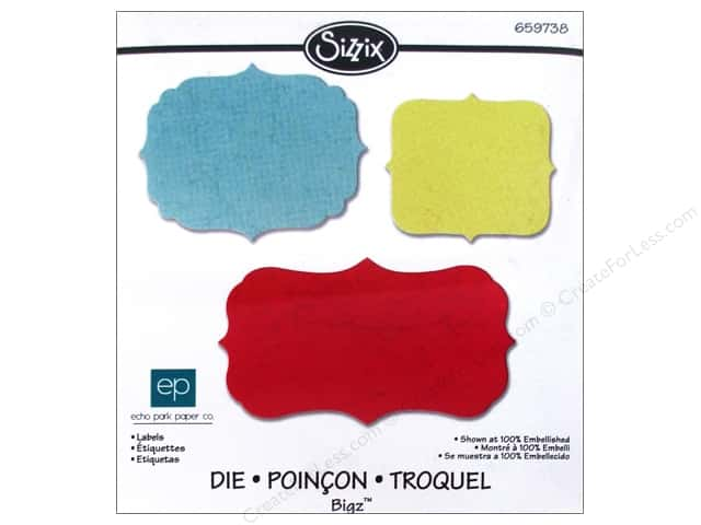 Sizzix Bigz Die Labels by Echo Park Paper