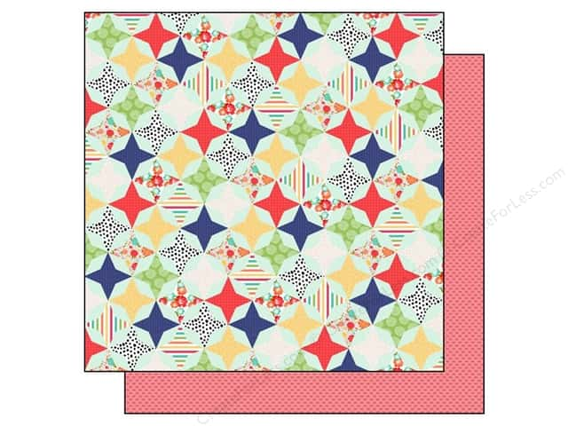 Echo Park 12 x 12 in. Paper Handmade Collection Quilt (15 sheets)