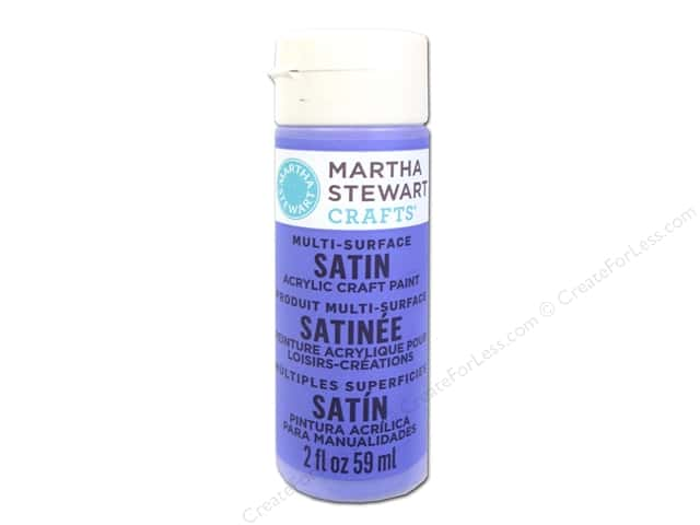 Martha Stewart Craft Paint by Plaid Satin Periwinkle 2 oz.