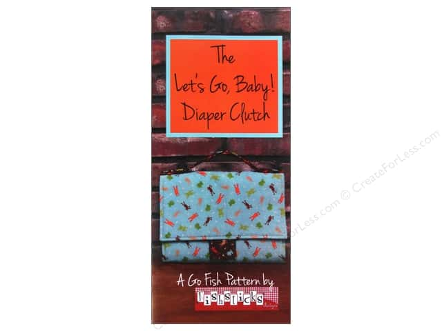 Fishsticks Designs Let's Go, Baby! Diaper Clutch Pattern