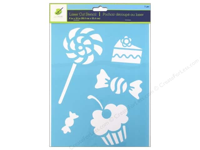 Craft Decor Stencil 8 x 10 in. Treats