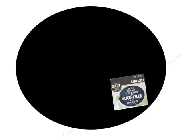 K&Company Chalk It Now Chalkboard Large Oval