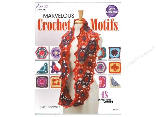 Marvelous Crochet Motifs Book by Ellen Gormley