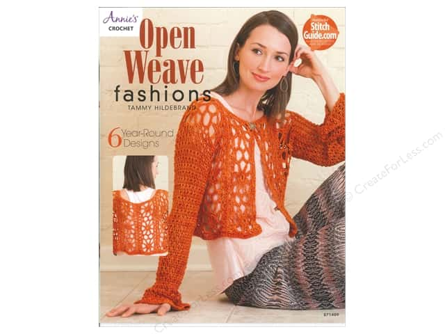 Open Weave Fashions Book by Tammy Hildebrand