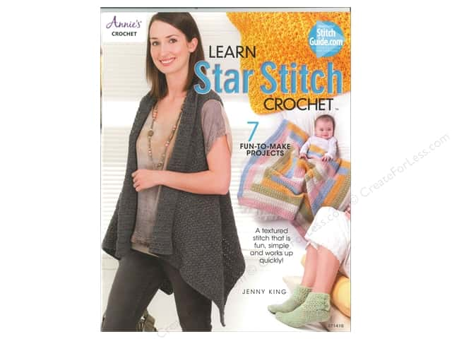Learn Star Stitch Crochet Book by Jenny King