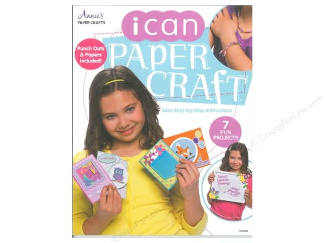 I Can Paper Craft Book by Annie's