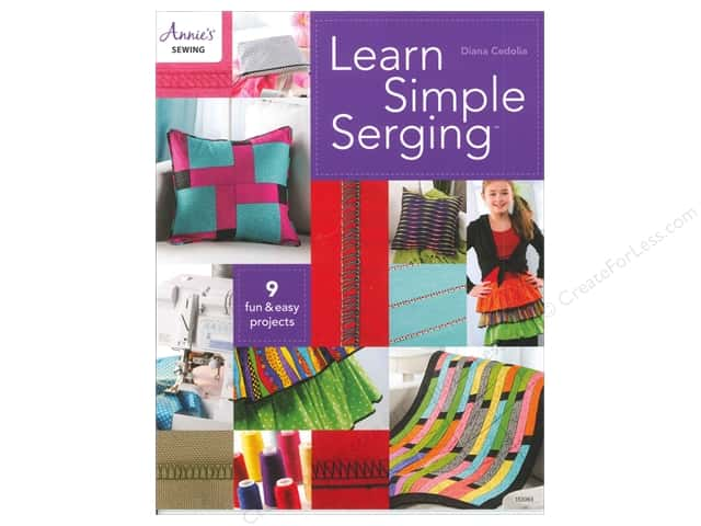 Learn Simple Serging Book by Diana Cedolia
