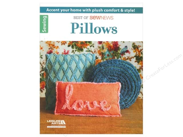 Leisure Arts Best Of SewNews Pillows Book