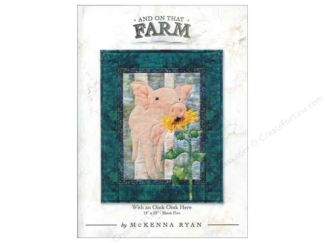 Pine Needles And On That Farm With An Oink Oink Here Pattern