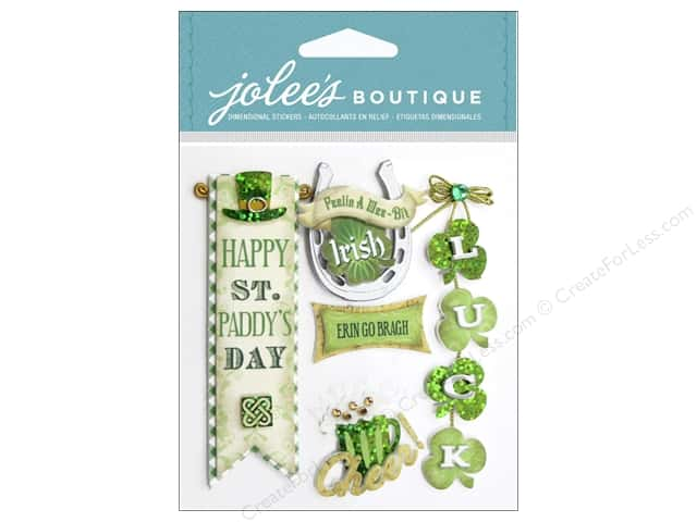 Jolee's Boutique Stickers Irish Words and Phrases