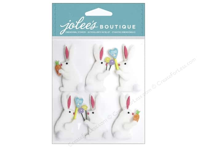 Jolee's Boutique Stickers Easter Bunnies