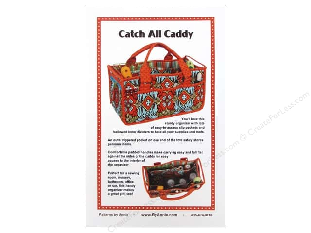 By Annie Catch All Caddy Pattern