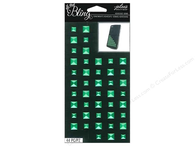 Jolee's Boutique Bling Stickers Gems Studs Emerald