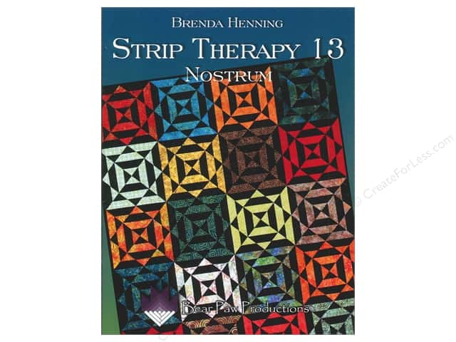 Bear Paw Productions Strip Therapy 13 Nostrum Book by Brenda Henning
