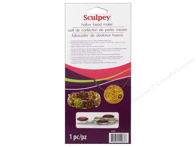 Sculpey Clay Tools Hollow Bead Maker