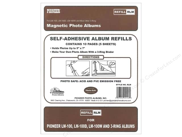Pioneer Refill Page Magnetic Album LM-100 5pc