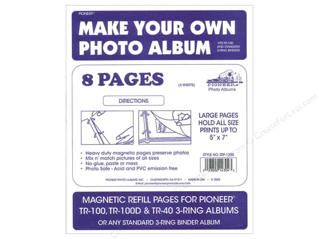 Pioneer Refill Page Magnetic Album TR-100 4pc