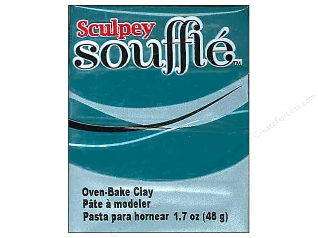 Sculpey Souffle Clay 1.7 oz. Sea Glass