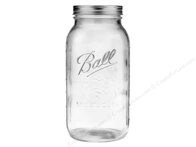 Ball Mason Jars 64 oz. Half Gallon Wide Mouth (6 jars)
