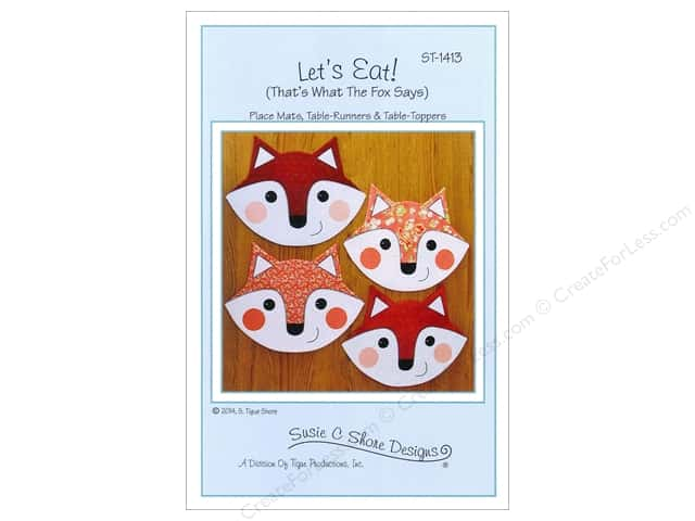 Susie C Shore Let's Eat Pattern