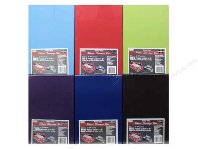 Pioneer Photo/Video Storage Box Assorted 6 Colors (12 boxes)