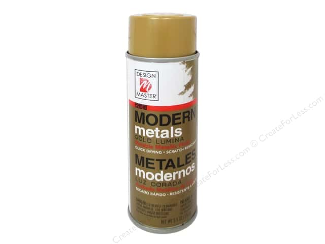 Design Master Modern Metals 5.5oz Gold Lumina