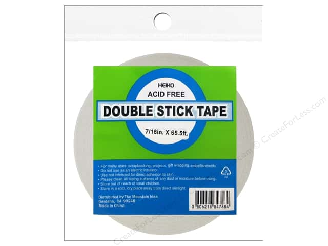 Heiko Double Stick Tape 7/16 in. x 65.5'