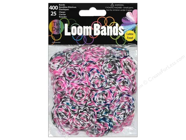 Midwest Design Loom Bands 425 pc. Plum Tie-Dye