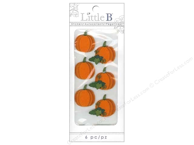 Little B Sticker Mini Halloween Pumpkin