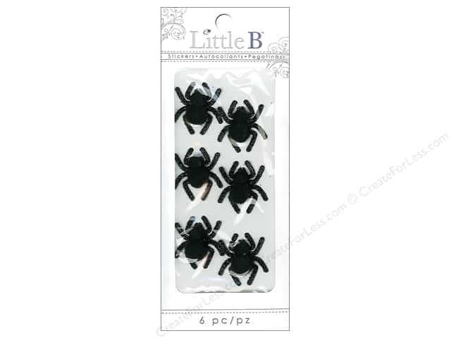 Little B Sticker Mini Creepy Spiders