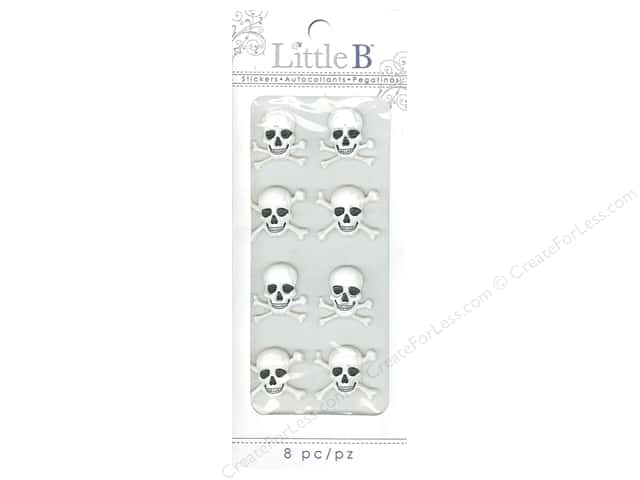 Little B Sticker Mini Skeleton Bones