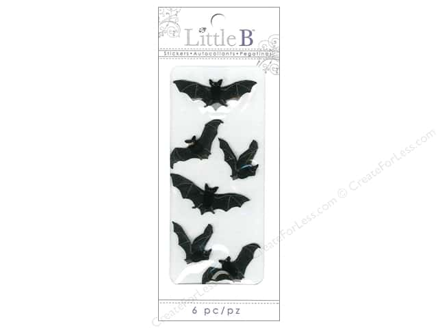 Little B Sticker Mini Bats Black